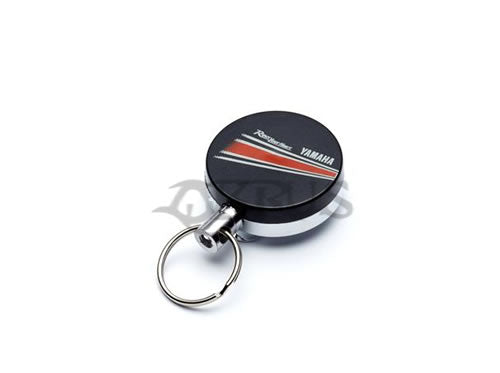 Genuine Yamaha Retractable REVS Key Ring