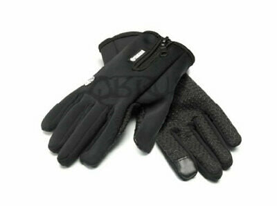 Genuine Yamaha 2020 REVS Black Smart Touch Touchscreen Gloves (M & L)
