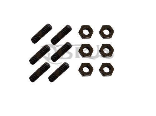 Genuine Yamaha Set Of 6 Rear Sprocket Studs & Nuts for YFM660R