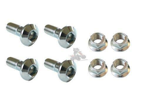 Genuine Yamaha Rear Sprocket Nut & Bolt Set