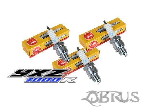 Set of 3 NGK Spark Plugs for the Yamaha YXZ1000R Buggy