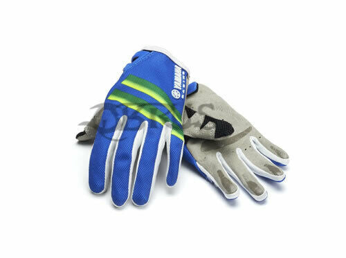 Genuine Yamaha 19 Blue/Green Off-Road Children's Gloves