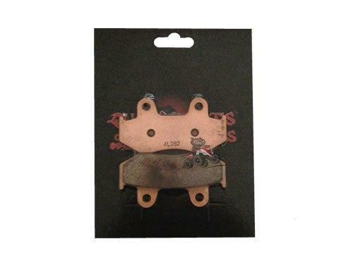 QBRUS Aftermarket Sintered Rear Brake Pads