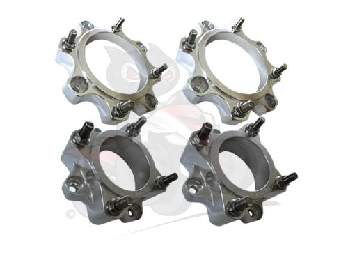 QBRUS Set Of Set Of 4 Alloy Wheel Spacer Set 4/156 30mm & 4/110 45mm (SMC)