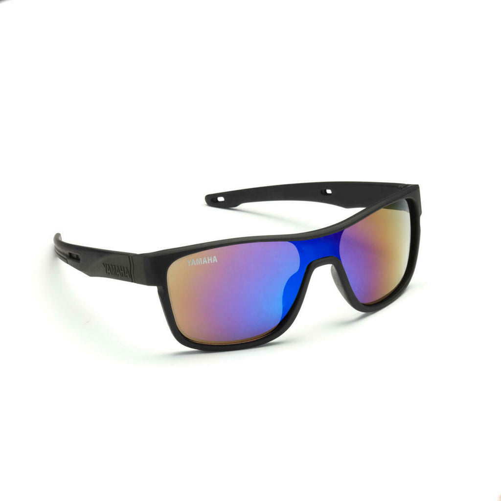 Yamaha Racing 2020 Black Or Clear/White Polarized Sunglasses with Case & Cloth