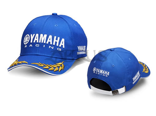 Genuine Yamaha 2018 Paddock Blue Adult Laurel Cap