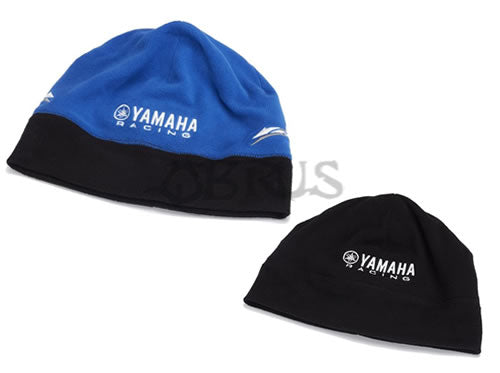 Genuine Yamaha Paddock Blue Adult Reversible Fleece Beanie