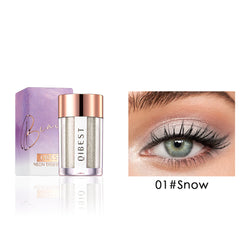 Powder texture glitter eyeshadow powder