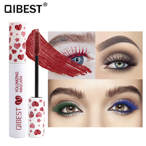 QIBEST Long Lasting OEM Waterproof Color Mascara For Your Skin Tone - Qibest Cosmetics