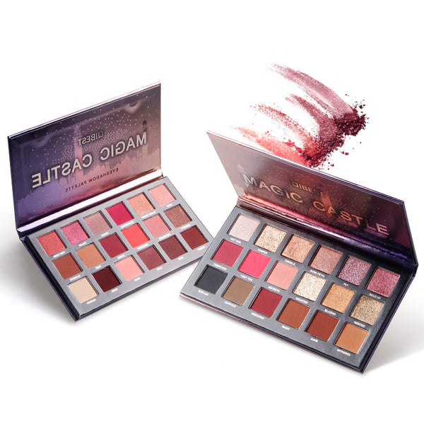 18 colors Eyeshadow Palette QIBEST
