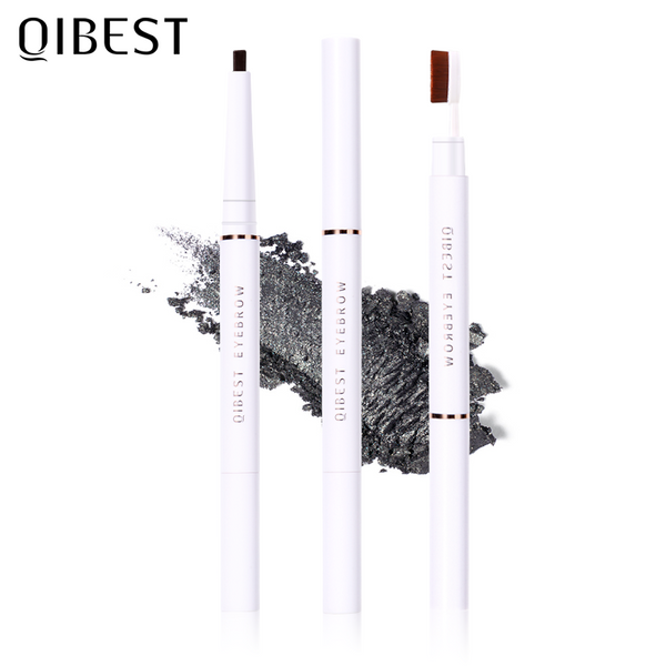 QIBEST Eyebrow Pencil Waterproof 5 Shades Eyebrow Pen