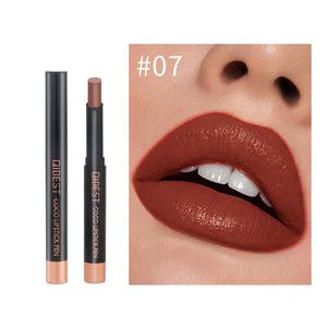 QIBEST beauty cosmetics make your own waterproof matte lipstick private label liquid lipstick - Qibest Cosmetics