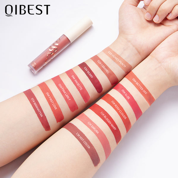 Silky soft matte lip gloss