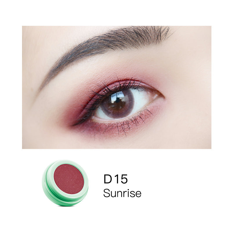 Monochromatic Egg Shape Eyeshadow