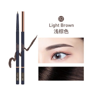 QIBEST PROFESSIONAL MAKEUP Micro Brow Pencil, Eyebrow Pencil, Ash Brown