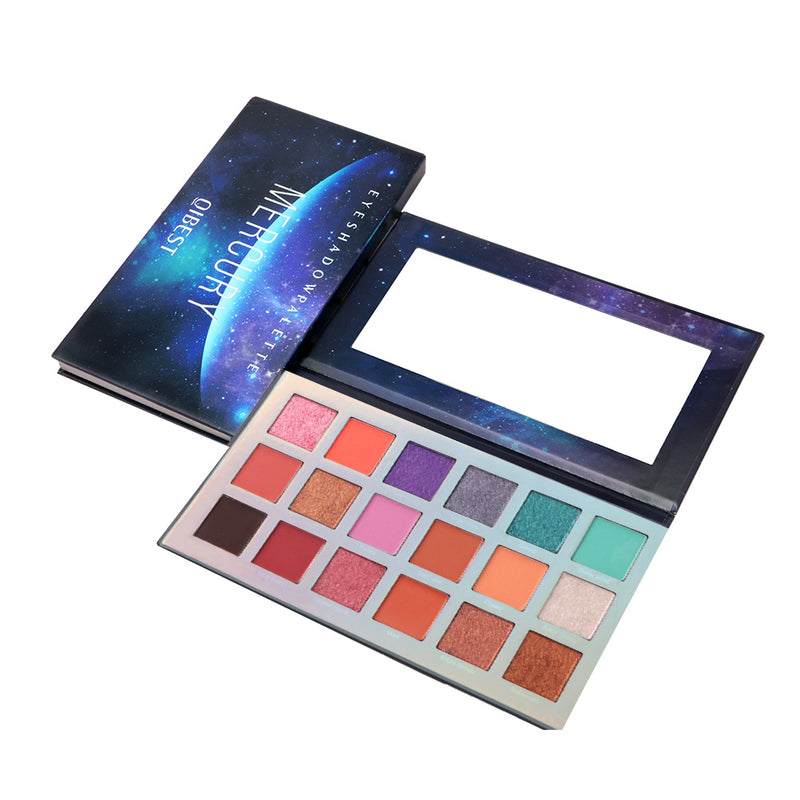 18 Mercury Eyeshadow Palette