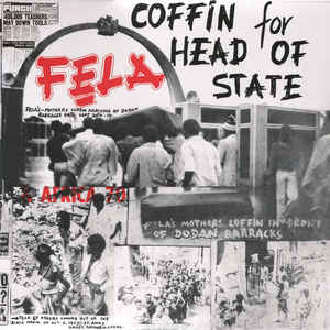 Fela & Africa 70 ‎– Coffin For Head Of State