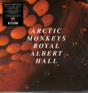 Arctic Monkeys ‎– Live At The Royal Albert Hall (clear vinyl)