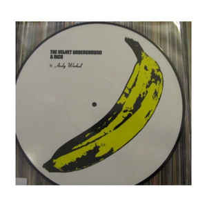 The Velvet Underground & Nico  ‎– The Velvet Underground & Nico (picture disc)