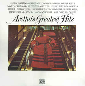 "Aretha Franklin ""Aretha's Greatest Hits"""