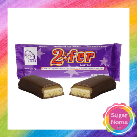 2Fer Chocolate Bar (Vegan Twix Bar)