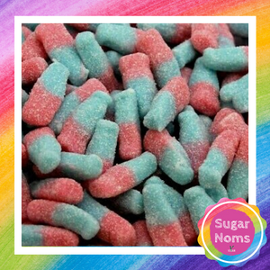 Vegan Bubblegum Bottle Sweets