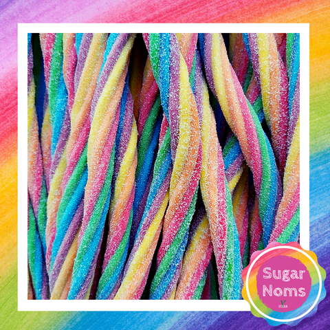 Vegan Crazy Candy Cable Shocks Sweets