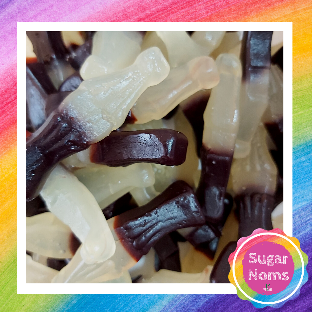 Vegan Cola Bottles Sweets
