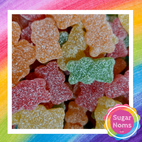 Vegan Fizzy Teddy Bears Sweets