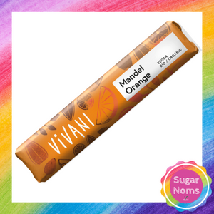 Vivani Mandel Orange Chocolate Bar (GF)