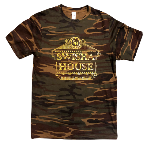 Exclusive Swisha House Camo Tee