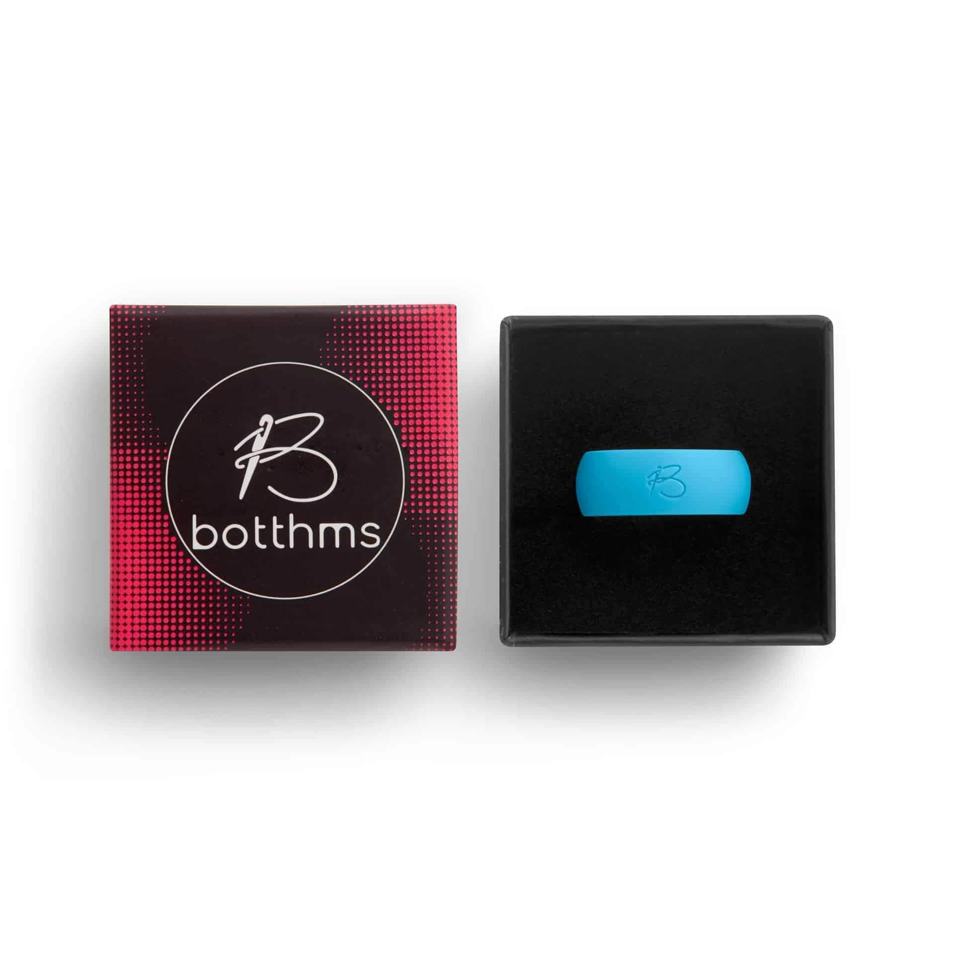 botthms turquoise active silicone ring box
