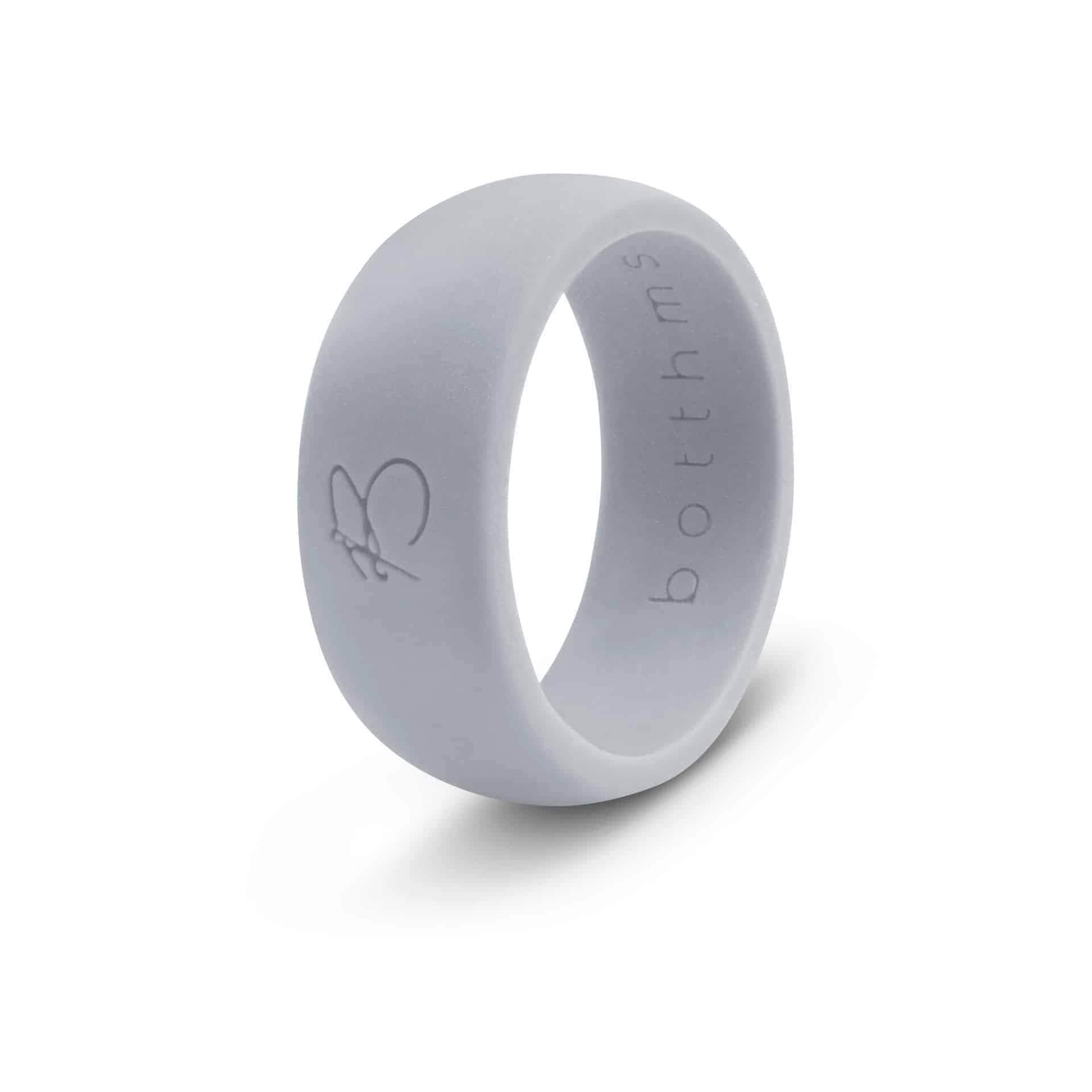 botthms grey active silicone ring