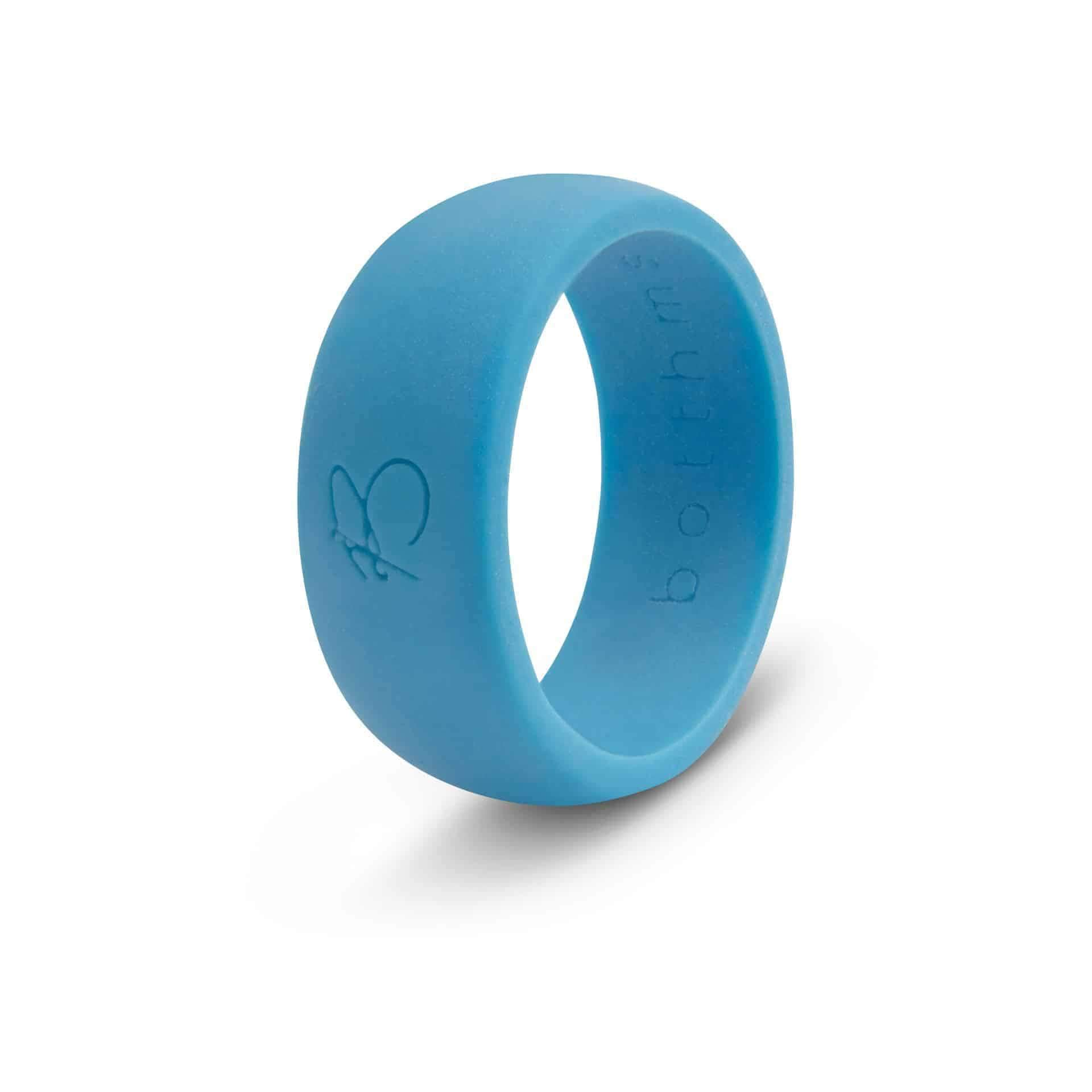 botthms turquoise active silicone ring