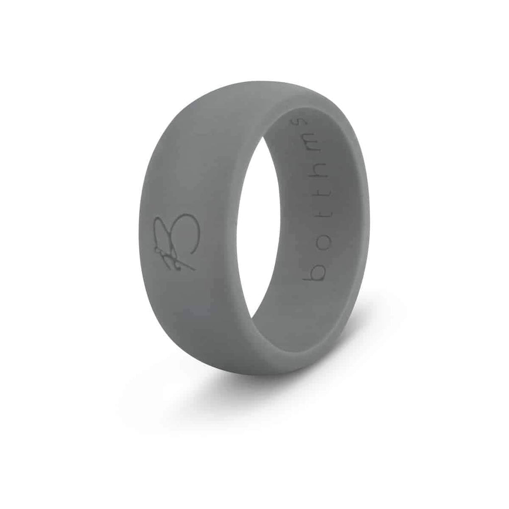 botthms Charcoal Active Silicone Ring