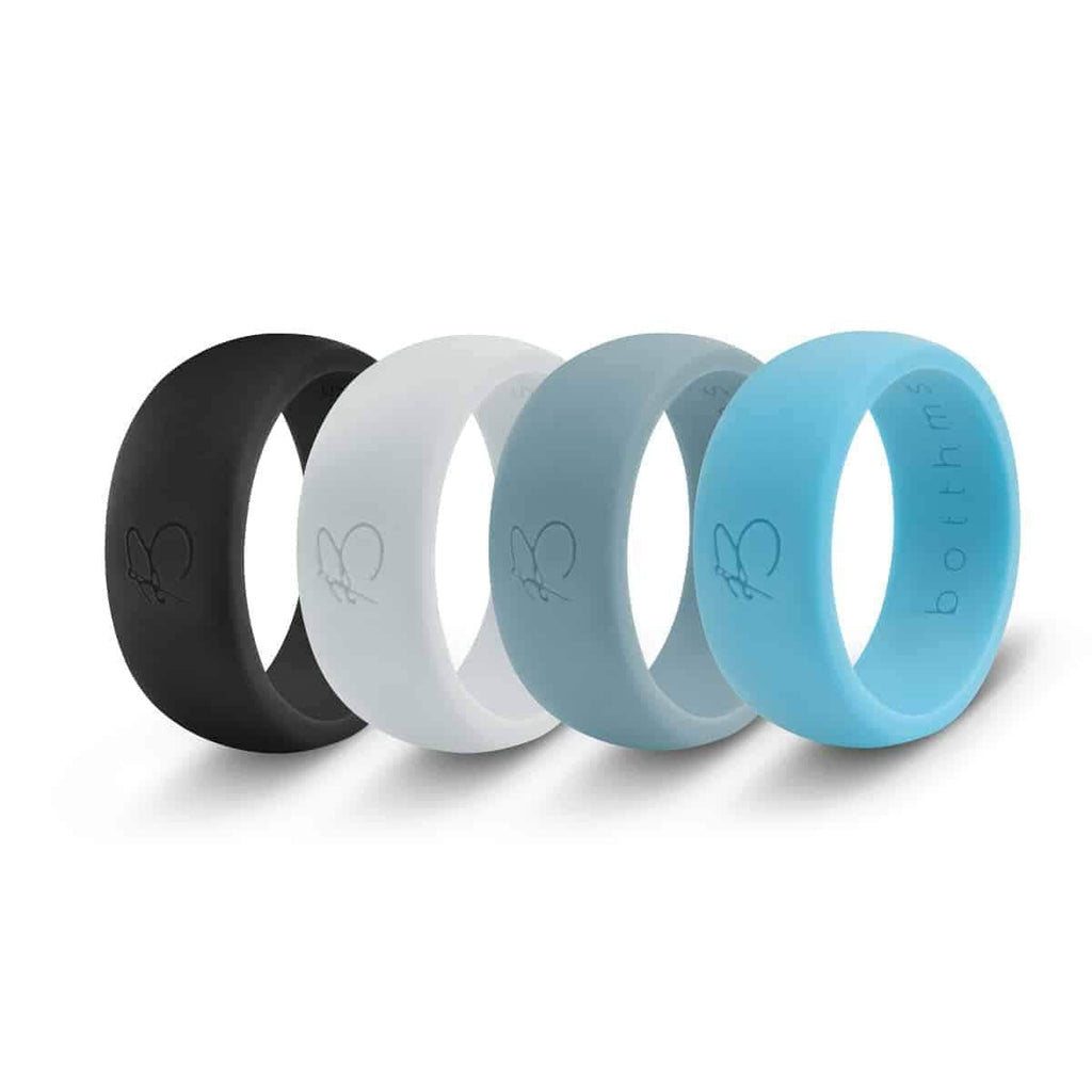 botthms Silicone Rings Combo Pack