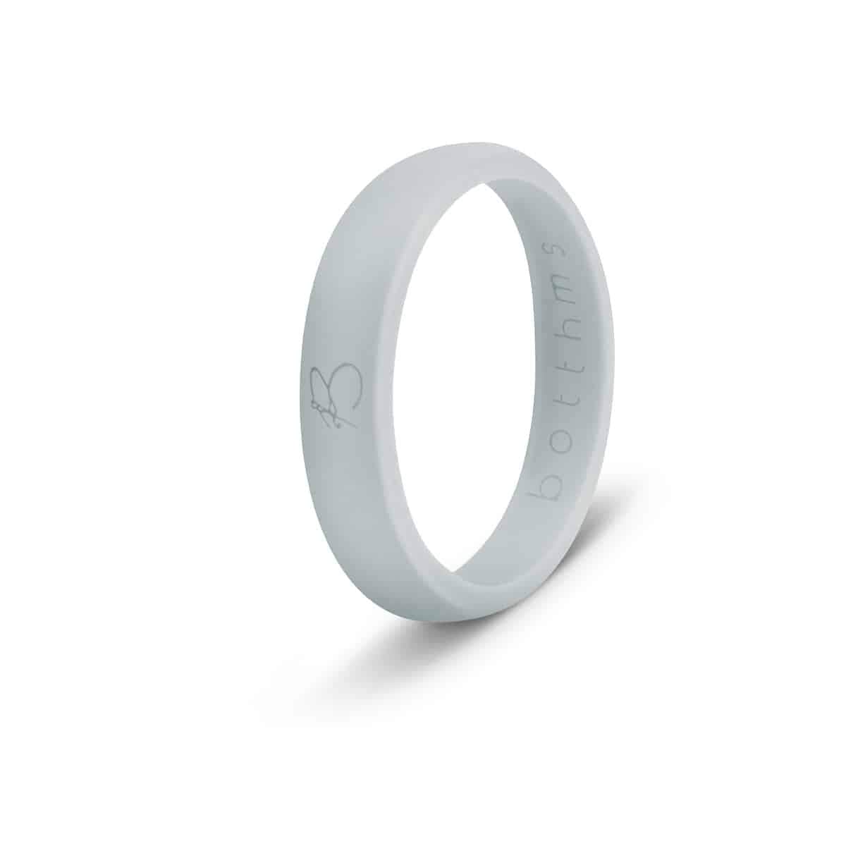 botthms Grey Ladies Active Silicone Ring