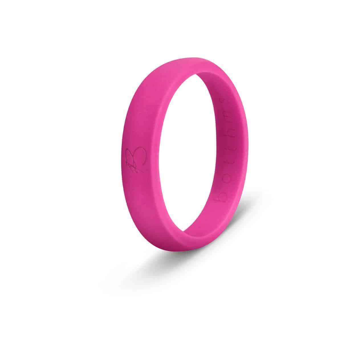 botthms Pink Ladies Active Silicone Ring