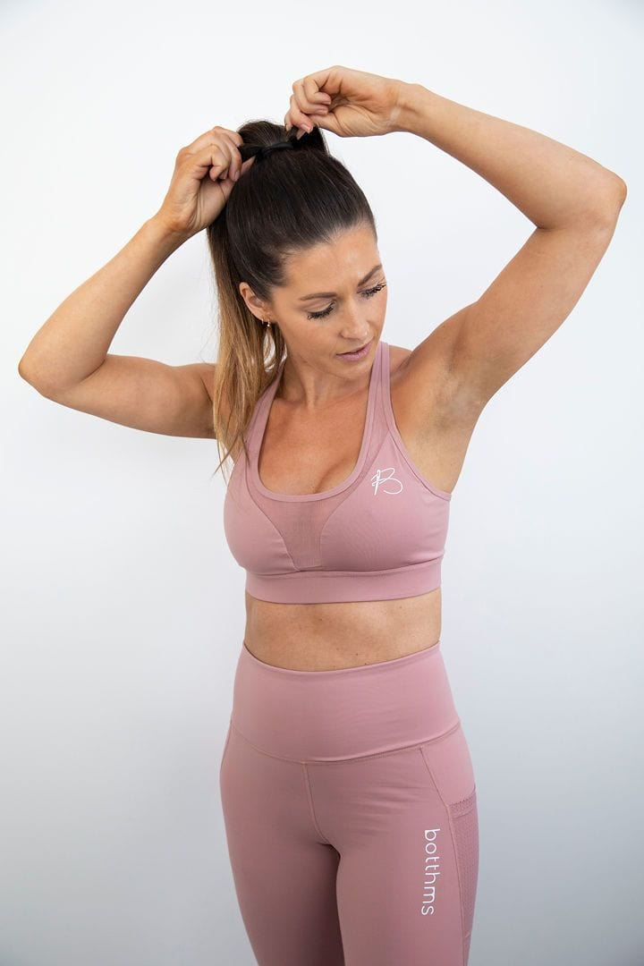 botthms Active Peach Yoga Set