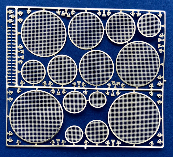 DM-2502 Boom Box Grilles