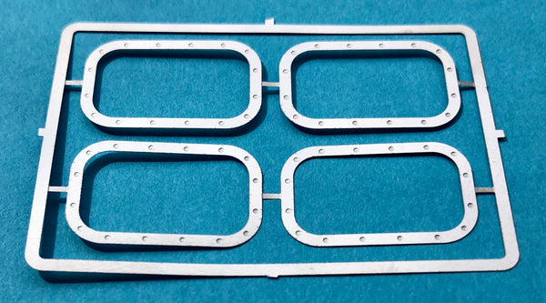 DM-2587 Peterbilt 352 Headlight Bezels