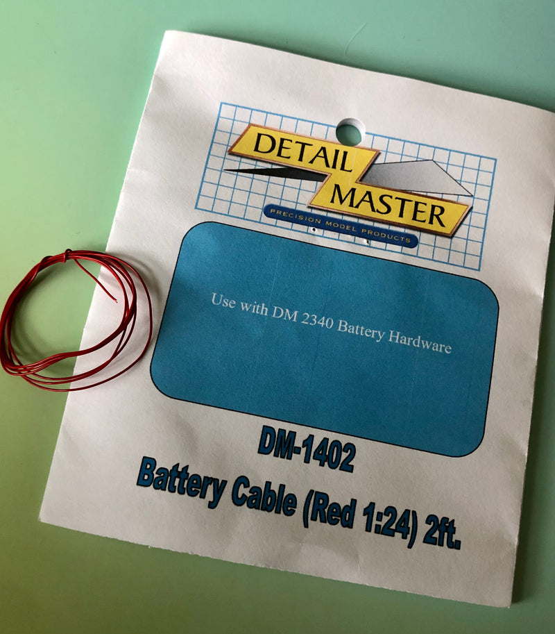 DM-1402 Battery Cable Red