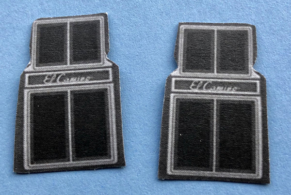PDT-213 El Camino Car Mat Set