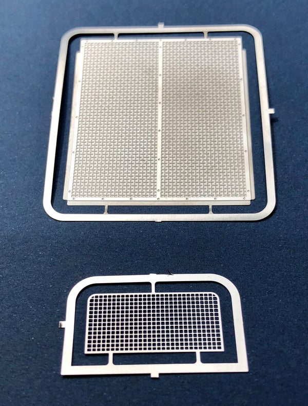 DM-2589 Peterbilt 352 Grille w/ Air Conditioner Grille