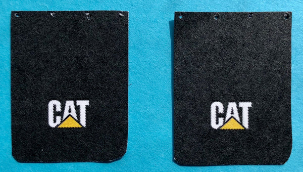PDT-1000 CAT Truck Mud Flap Set