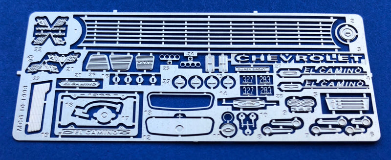 MCG-2129 1966 Chevy El Camino Detail Set