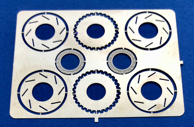 "MCG-2162 13"" Slotted Disc Brake Rotors"
