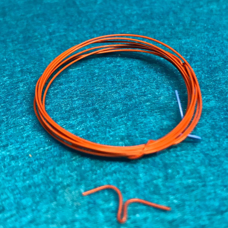 DM-1057 Orange Race Car Ign Wire .016 2ft