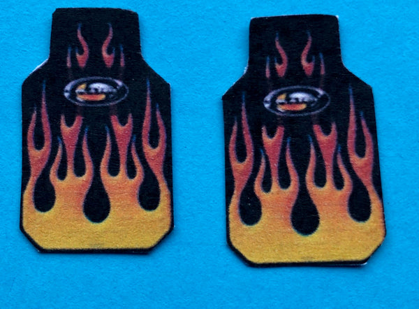 PDT-710 Flame Car Mat Set