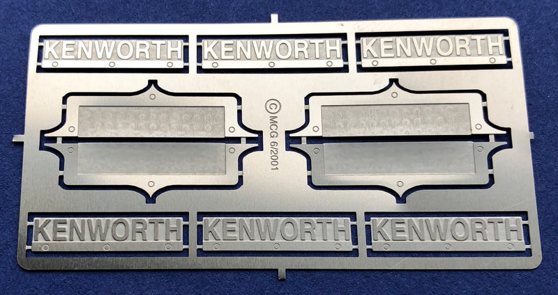 MCG-2201 Kenworth Emblem Detail Set